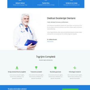 cabinet_dentar-creare-site-web-impact-production